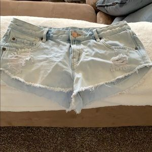 """Urban outfitters 28 W """"dolphin low rise"""" shorts"""